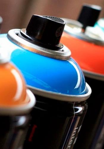 Заправка краски в аэрозольные баллоны